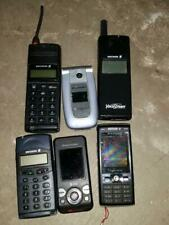 6 Ericsson Sony Cell Phones *Parts Repair Untested* Different Carriers