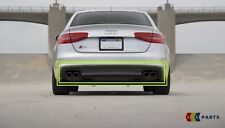 NEW GENUINE AUDI S4 13-16 REAR BUMPER DIFFUSER TRIM DOUBLE PIPE 8K0807521L 1RR