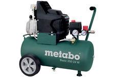 Metabo Kompressor Basic 250 - 24 W 110 l/min 8 bar 1,5 kW 24l Kesselvolumen