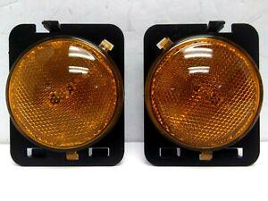 2007-2018 Jeep Wrangler Side Marker Light SET Left & Right OEM