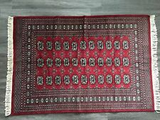4 x 6  ft Royal Bokhara Rug Hand-Knotted in Pakistan