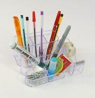 Desk Organiser Set Office Pen Notes Tape Flags Holder Stationary Organizer Tidy