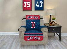 BOSTON RED SOX FURNITURE PROTECTOR COVER RECLINER REVERSIBLE FREE SHIPPING!!
