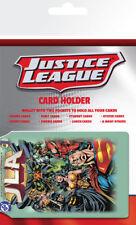 Superheroes Dc Comics Liga De La Justicia Soporte de tarjeta Cartera De Viaje De Ostra