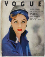 Irving Penn Balenciaga Paris John Deakin British Vogue magazine October 1952 vtg