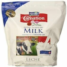 Instant Dry Milk Carnation 25.6oz Nonfat Powder Calcium Easy Emergency Dry Food