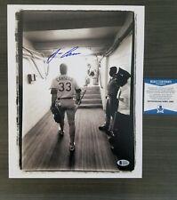 Jose Canseco Signed 11x14 Photo (Beckett COA)