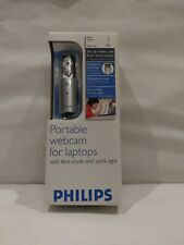 New Philips Web Cam with Laptop Light SPC611NC/37 Webcam