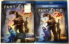 FANTASTIC 4 BLU RAY + SLIPCOVER SLEEVE FREE SHIPPING WORLD WIDE BUY IT NOW