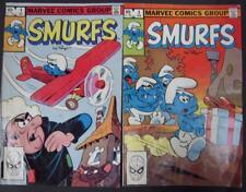 Smurf Comics-Low Grade Lot- #1 & #3-1982-G/VG