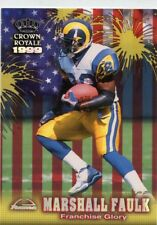 Marshall Faulk 1999 Crown Royale Franchise Glory St. Louis Rams #18