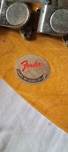 Fender Guitar 50's Years Of Excellent
