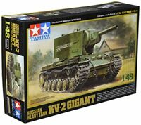 Tamiya 1/48 Military Miniature Series No.38 Soviet Army KV-2 Heavy Tank Gig