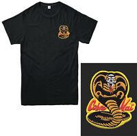 Cobra Kai Embroidered T Shirt Karate Kid Movie Kung Fu Martial Arts Unisex Kids