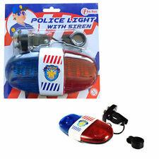 Polizei-Beleuchtung und Sirene Spielzeug für Fahrrad Go-Cart
