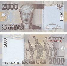 Indonesien / Indonesia - 2000 Rupiah 2016 old type UNC - Pick New