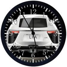Lexus LFA Super Car Black Frame Wall Clock Nice For Decor or Gifts Y89