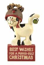Heaven Sends Christmas Decoration Purrfect Christmas Cat Ornament Decoration