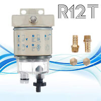 R12T Boat Marine Rotation Oil Fuel Filter Water Separator R12 R12S R12T R12P