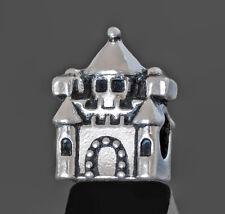 Castle Charm, Castle Beads, Medieval Jewelry, For European Charm Bracelets