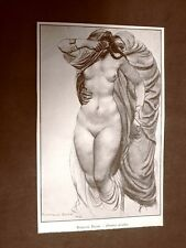 Donna araba Composizione di Romano Dazzi del 1924
