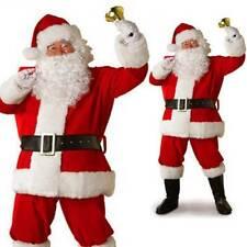 Мужские Деда Мороза полный костюм праздничный Дед Мороз рождественский модный наряд платье