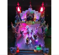 Lemax Spooky Town Monsters Ball #54302 Halloween Village- time to Monster Mash!