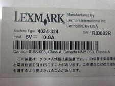 LEXMARK MARKNET X2000 4034-324 Serveur d'impression/Serveur d'impression x2031e