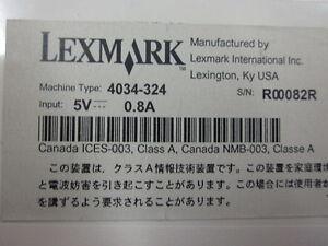 Lexmark MarkNet X2000  4034-324 Printserver / Druckserver X2031e  ohne Netzteil