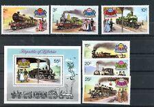 LIBERIA--Complete Set Scott #629-#634 & #C199
