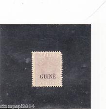 PORTUGUESE GUINEA CROWN 100 REIS (1879-86)   Perf.12,5