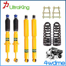 "Toyota Hilux KUN26 4WD Front & Rear Shocks + Coil Springs 2"" 40-50mm Lift Kit"