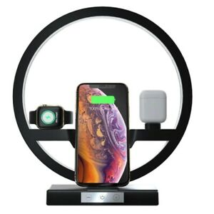 4 in 1 Wireless QI Fast Charging Station For iPhone i-watch and Ari pods