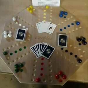 Carble Board Marble Game 24 x 24 Hand Sanded Unfinished