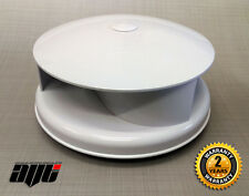 WHITE Rotating Vehicle Wind Driven Roof Vent / Ventilator VAN / TRUCK / TRAILER