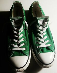 Converse Classic Chuck Taylor All Star Low Top Green Sneakers [Men 10/Women 12]