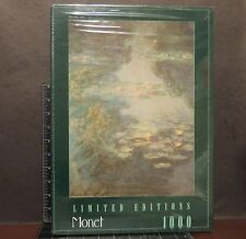 Limited Editions 1000 Piece Jigsaw Puzzle Claude Monet Waterlilies, 1908 RoseArt