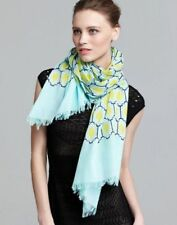 Kate Spade NEW YORK Blue Tiles Scarf