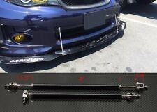 """Black 4""""-7"""" Struts Supports Rod Bar for Subaru Mazda Bumper Lip Diffuser Spoiler"""