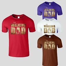The Walking Dad Mens Tshirt Funny News Fater Gift Idea Tee Birthday Gift
