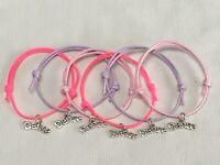 6 Aladdin sur le thème de Bracelets d/'amitié Fête Sac Remplissage tombola prix Faveurs
