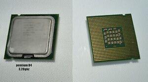 CPU PROCESSEUR  Processeur CPU INTEL Pentium 4  540/540J SL7PW socket 775