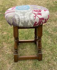 Vintage Solid Wood Pub Bar Stool Mancave GamesRoom Seating Wooden Legs Comfy