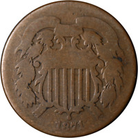 1871 Two (2) Cent Piece Great Deals From The Executive Coin Company