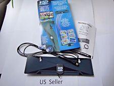 Digital Indoor VHF UHF Ultra Thin Flat TV Antenna for HDTV 1080P DTV HD US Sale