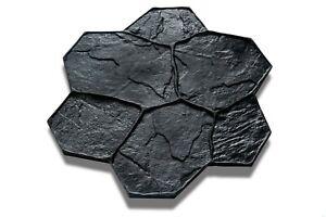 Random Stone Concrete Imprint Mats - 75cm x 75cm