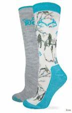 Realtree Ladies Snow Camo Wool Sock 2pk