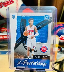 2020-21 Panini Donruss Saddiq Bey Great X-Pectations Rookie RC Pistons #19