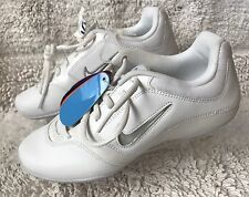 Womens Nike GO FIGHT White Grey Training Nurse Shoes Sneakers S/6.5 Store Sample