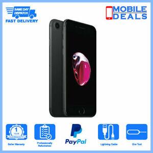 Apple iPhone 7 32GB Black  2GB Unlocked iOS Smartphone - Mint